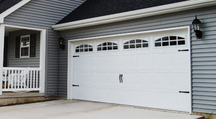 Carriage House Stamped Garage Doors