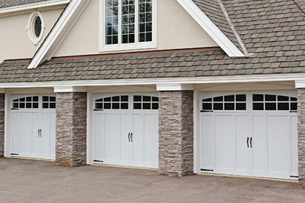 carriage garage doorResidential Carriage House Overlay Garage Doors Athens GA