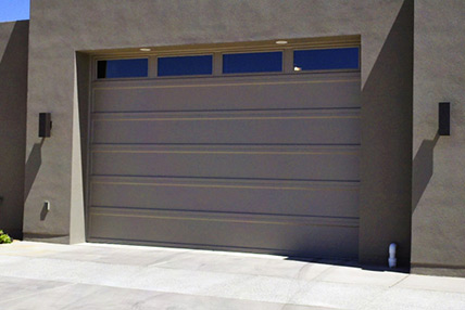 Nice Recessed Panel Garage Door Model 2294   Flush