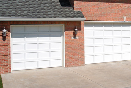 Northeast Georgia Gutters and Garage Doors, Inc. - Recessed Panel Garage Door