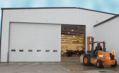 Commercial Insulated Sandwich Garage Doors Athens Ga
